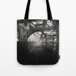New York City: Williamsburg Bridge Tote Bag