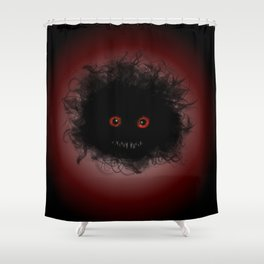 Lil monster Shower Curtain