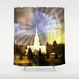 Idaho Falls - I Am With You Shower Curtain