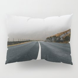 Lonely Road in Ireland Pillow Sham