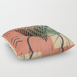 Nature Geometry II Floor Pillow