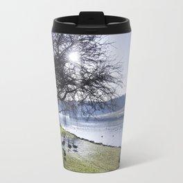 Misty Morning in Colour Travel Mug