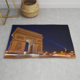 Arc De Triomphe, Paris, A Landscape by Jeanpaul Ferro Rug