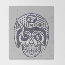 Skull 77 Throw Blanket
