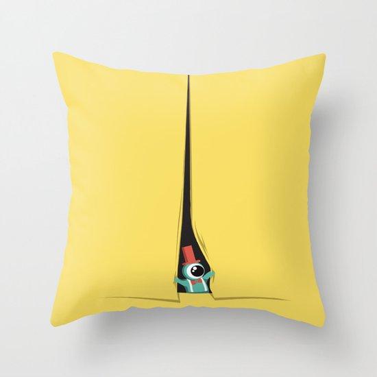 Peek show! Throw Pillow
