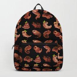 Chocolate Reptiles - dark Backpack