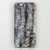 furry iPhone & iPod Skins featuring Furry by Courtney Spencer