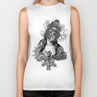 passion Biker Tanks featuring Passion by DIVIDUS