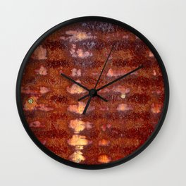Riding Waves Wall Clock