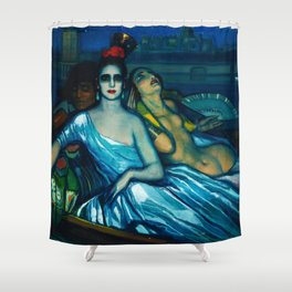 Muses of the Guadalquivir, Venice by Federico Beltran Masses Shower Curtain
