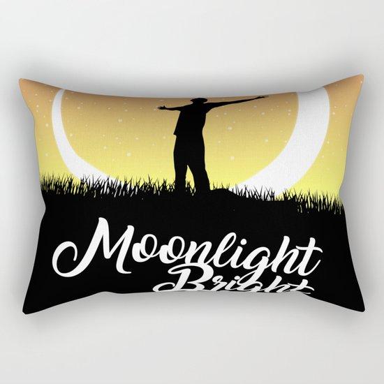 Moonlight Bright Rectangular Pillow