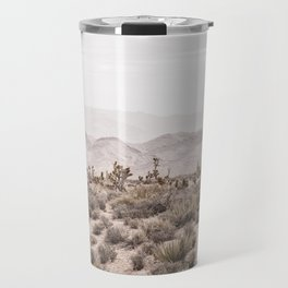Sierra Nevada Mojave // Desert Landscape Blush Cactus Mountain Range Las Vegas Photography Travel Mug