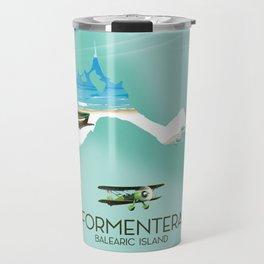 Formentera Balearic island Travel Mug