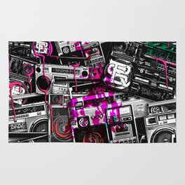 Ghetto Blaster 2 Royal Sain Rug