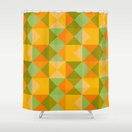 classic retro fall design Nuppeppo Shower Curtain