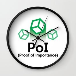 PoI - Proof of Importance Wall Clock
