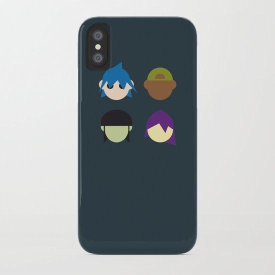Famous Capsules - Gorillaz iPhone Case
