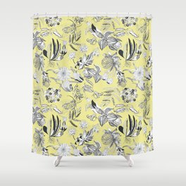 Felicity Flowers Shower Curtain