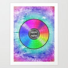 music unites Art Print