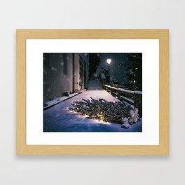 Chrismas Tree Framed Art Print