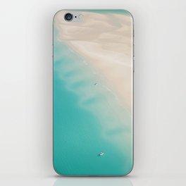 Teal Sands iPhone Skin