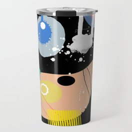 Cheerful Amoebas Travel Mug
