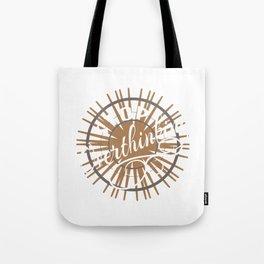Funny Overthink Tshirt Design Stop Overthinking Tote Bag