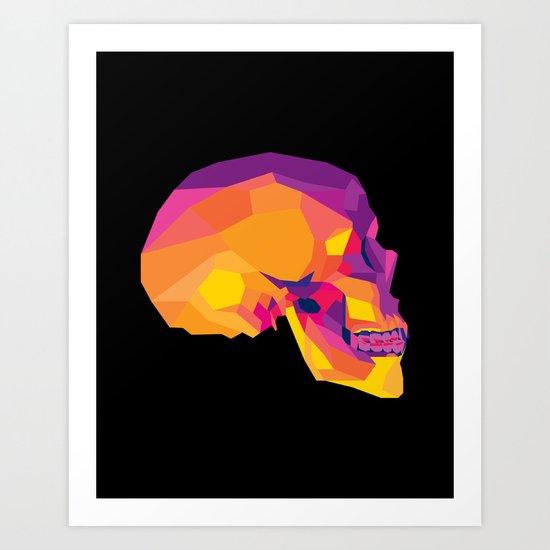 Fragile Death Art Print