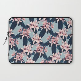 Galphimia in Prussian Blue Laptop Sleeve