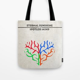 Eternal Sunshine of the Spotless Mind Alternate and Minimalist Poster Tote Bag