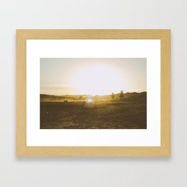 Caballeros Framed Art Print