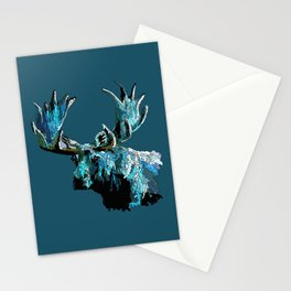 Too Cool Moosey Moose Stationery Cards