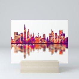 Ho Chi Minh City Vietnam Skyline Mini Art Print
