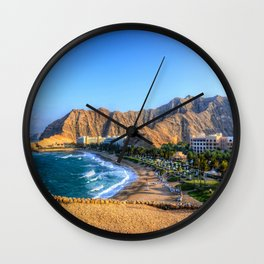 Shangri la resort Muscat Oman Wall Clock