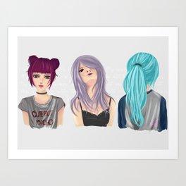 Perfect Me Art Print