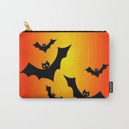 Bat Sun Bath Carry-All Pouch