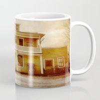 general Mugs featuring General Store by Dorothy Pinder