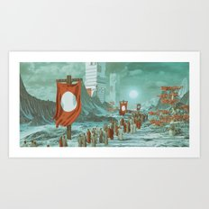 PILGRIMAGE (everyday 10.10.16) Art Print