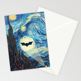 Starry Night Heroes Stationery Cards