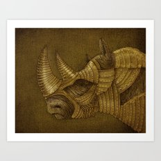 The Guardian  Art Print