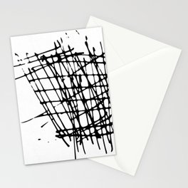 Sketch Black and White Stationery Cards