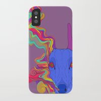 lsd iPhone & iPod Cases featuring LSD by DeadStag
