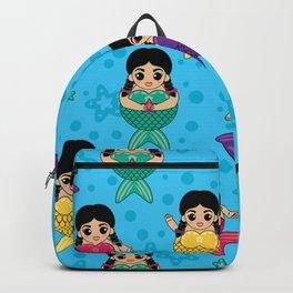 Chubby Mermaids Backpack