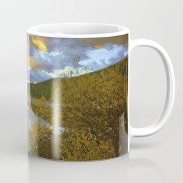 Ech Lake Sunset Coffee Mug