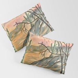 Southwestern Art Desert Painting Pillow Sham
