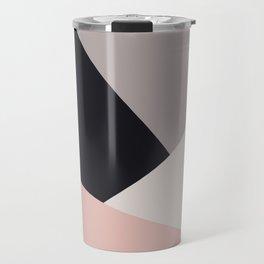 Elegant & colorful geometric Travel Mug