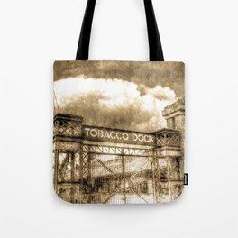 Tobbaco Dock London Vintage Tote Bag