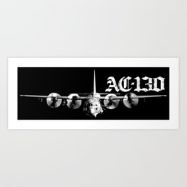AC-130 Art Print