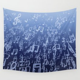 Aquatic Chords Wall Tapestry