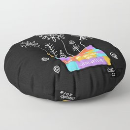 Strength Lies in Our Differences Floor Pillow